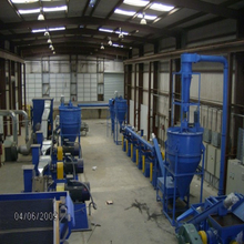 Tire Recycling Plant